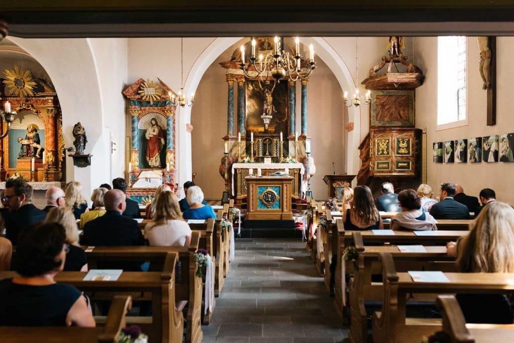 In der Kirche in Euskirchen.