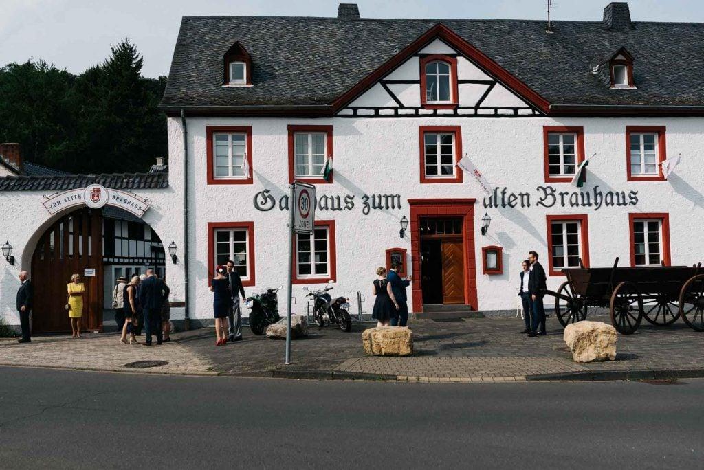Die Hochzeitslocation in Euskirchen.