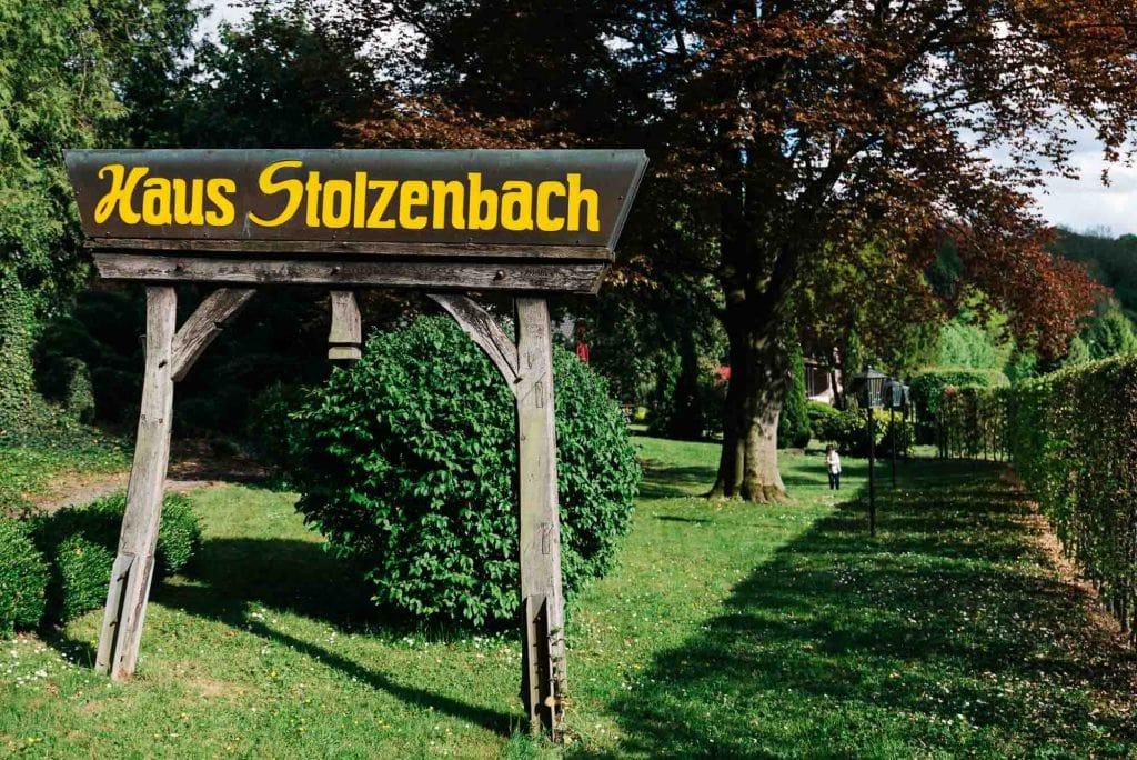 Garten des Haus Stolzenbach.
