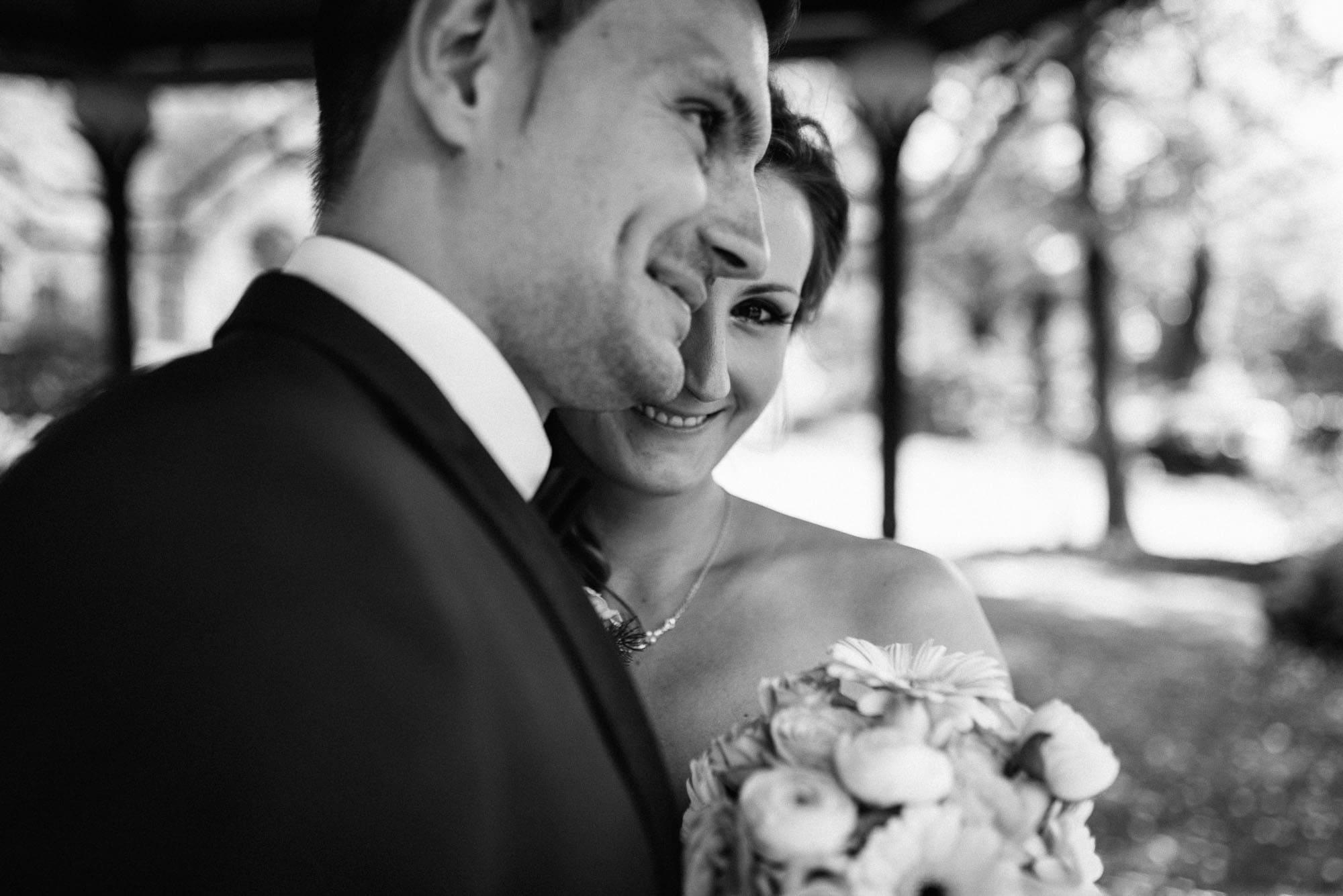 Detailbild vom Brautpaar.