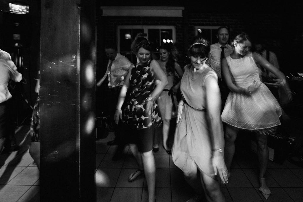 Flashmob auf der Tanzfläche.