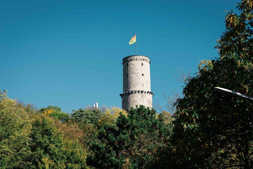 Der Turm der Godesburg.
